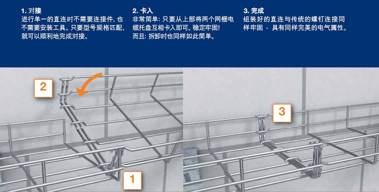 桥架安装方法